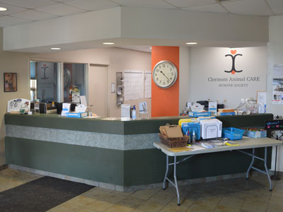 Clermont Animal CARE Interior Lobby #1