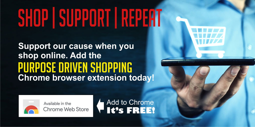 Download Purpose Driven Shopping Chrome Extension to Support CACHS