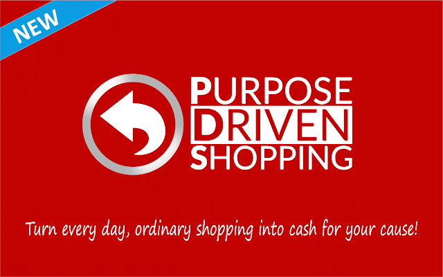 Click to Add New Purpose Driven Shopping Chrome Extension